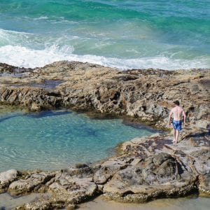Fraser Island Beachcamp Champagne Pools