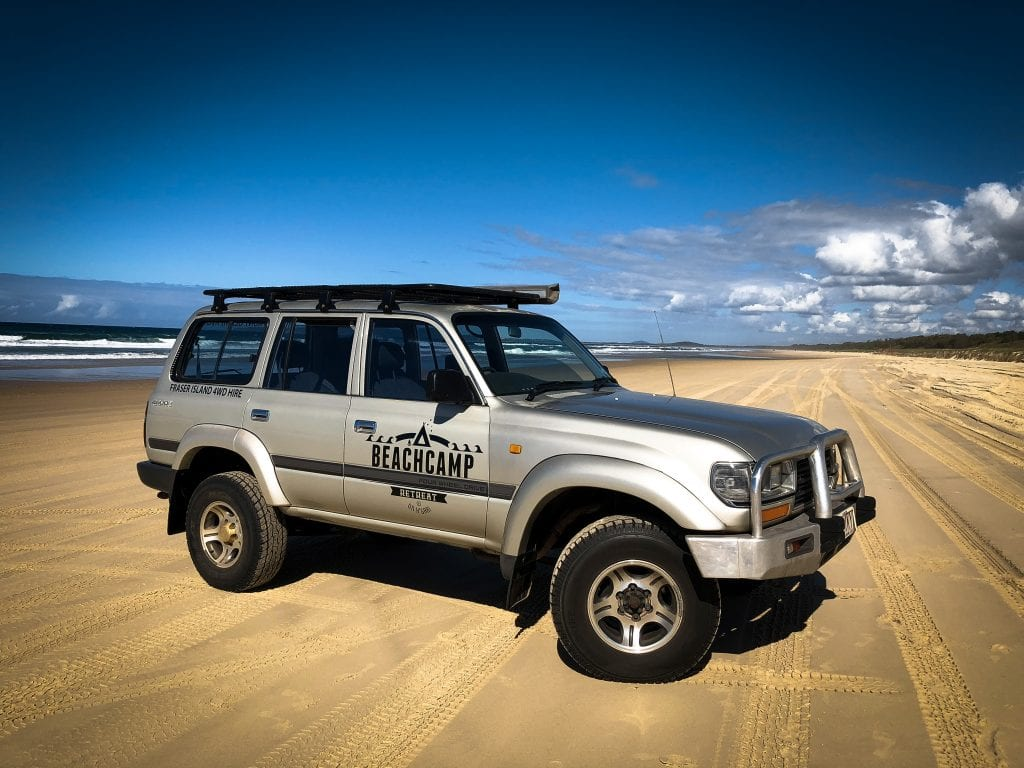 4WD Hire Beachcamp Retreat