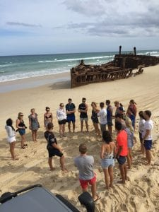 story about the Maheno Shipwreck