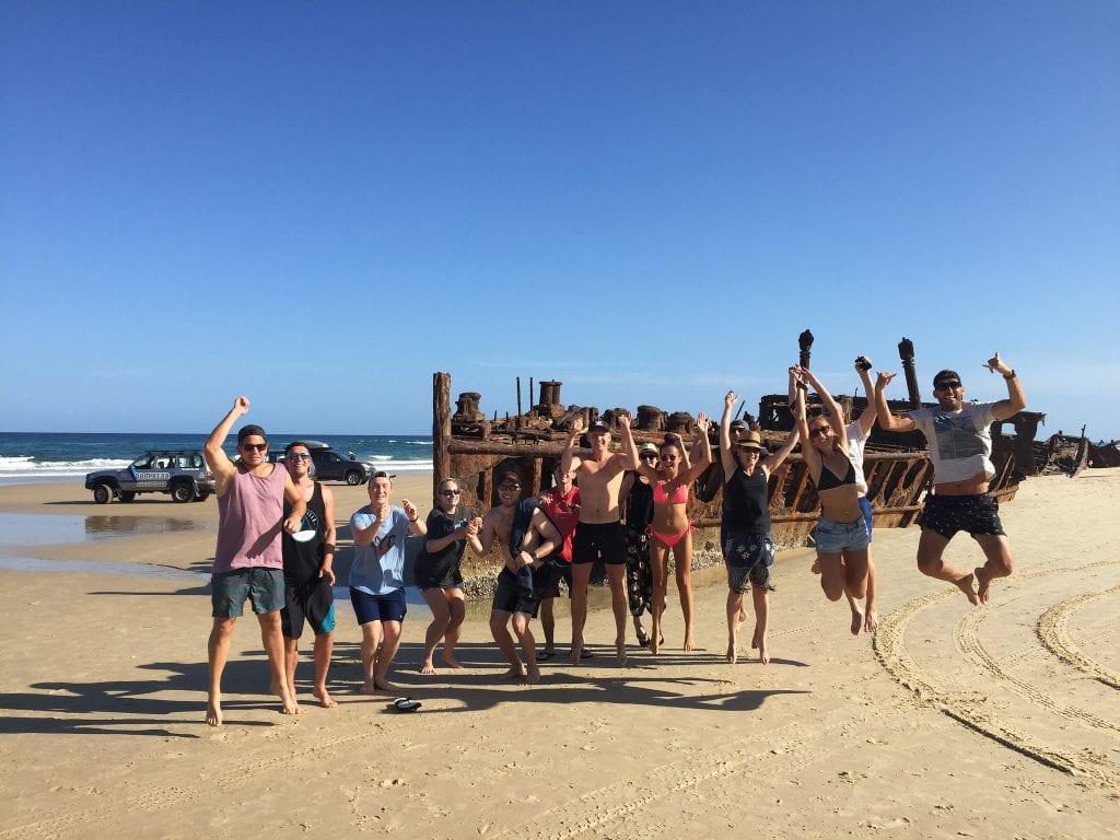 Fraser Island Shipwreck; Maheno Shipwreck