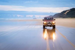 4WD Hire on Fraser Island