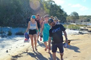 Guided Tours on Fraser Island