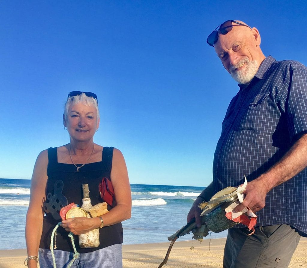 Beach Cleaning on Fraser Island